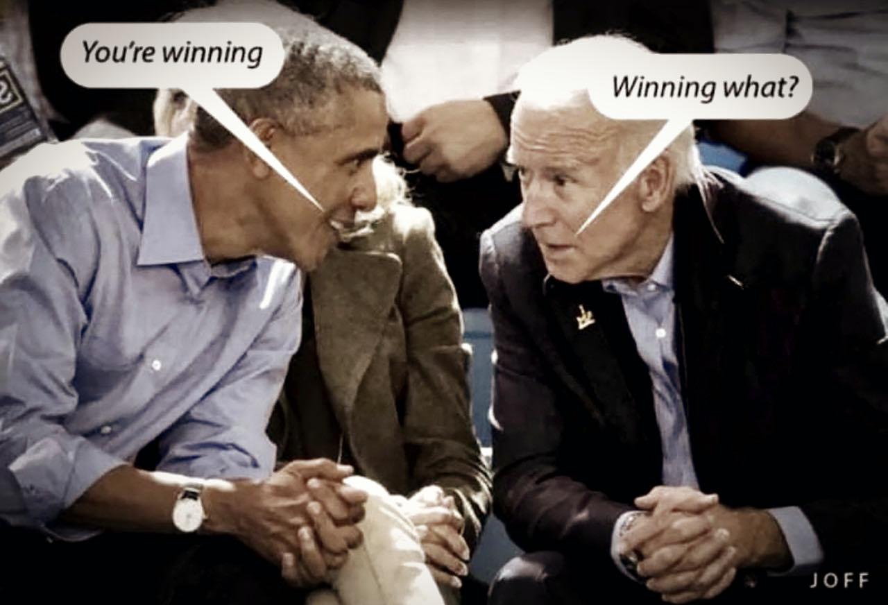 Tes en train de gagner! — Gagner quoi?
