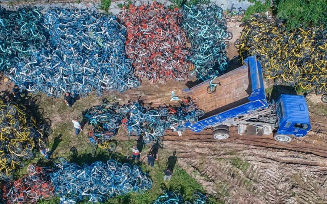 PHOTO |L'après-vie des vélos chinois