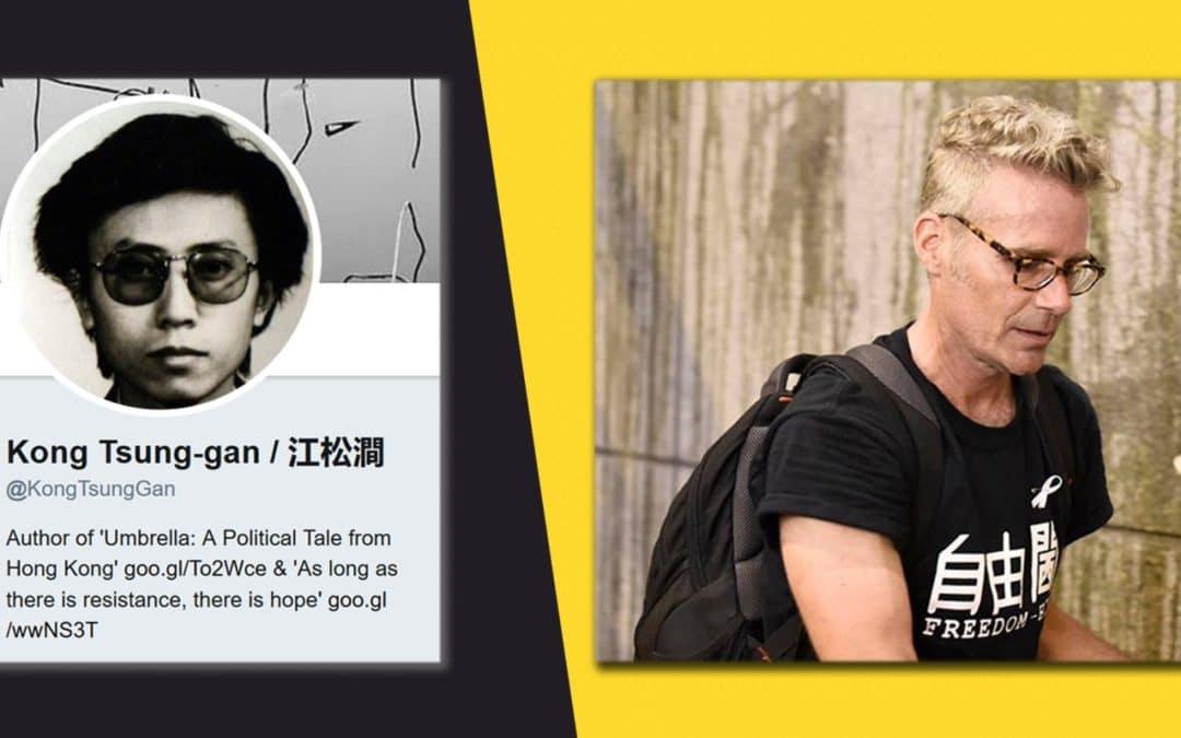 MANIPULATION • Le héros de Hong-Kong était un visage pâle