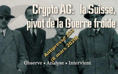 CRYPTO AG • La neutralité suisse n'était qu'une porte dérobée