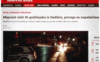 BOSNIE-HERZÉGOVINE • Les migrants mettent d'accord Serbes et Musulmans