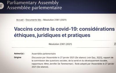 VACCINS • L'obligation est officiellement illégale